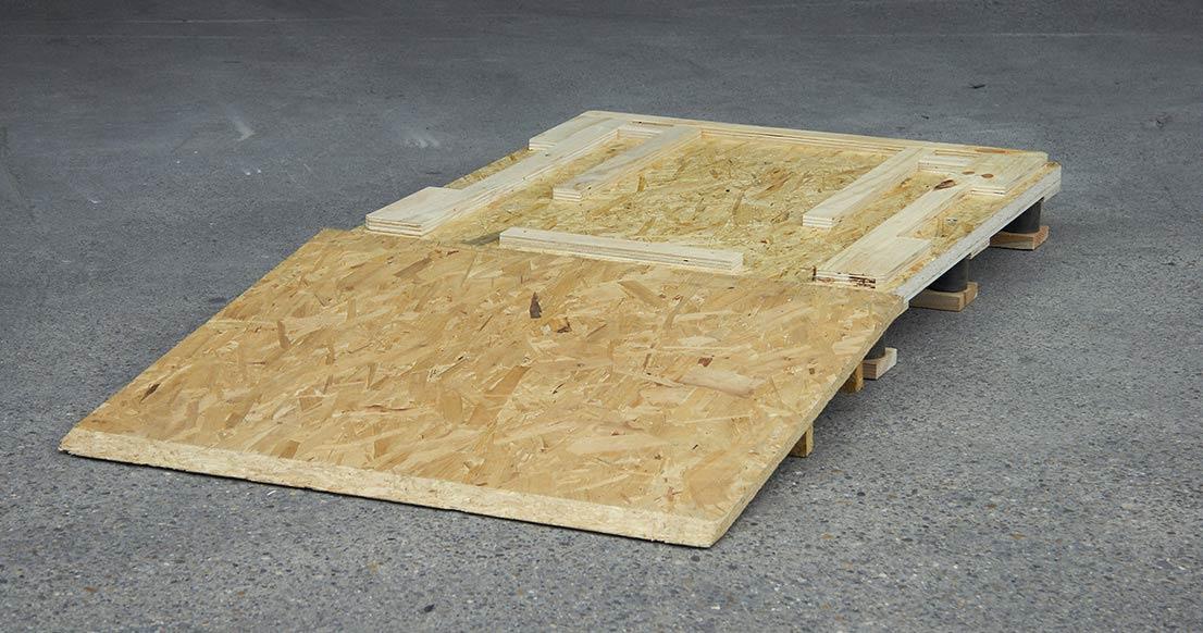 Transportmittel Wie Holzkisten, Paletten Und Transportböden