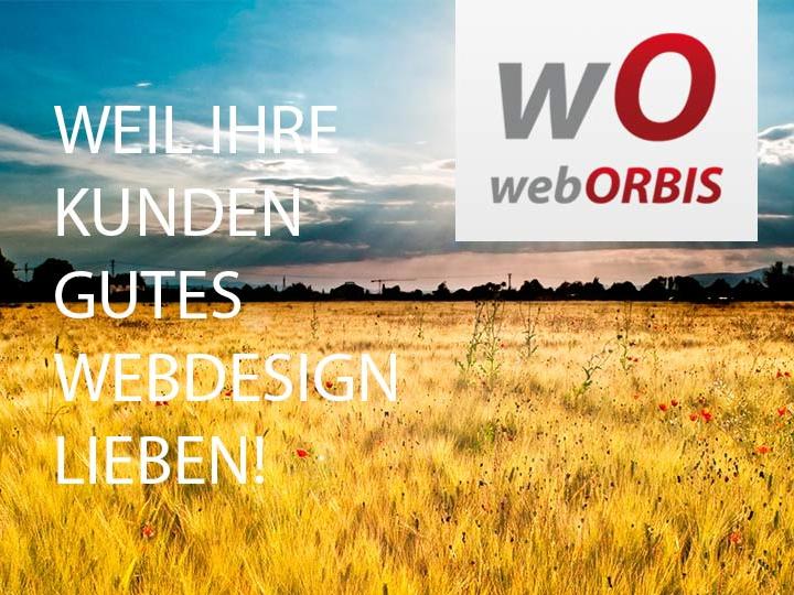 WebORBIS - Weil Ihre Kunden Gutes Webdesign Lieben!